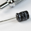 10uF Through Hole Electrolytic Capacitor