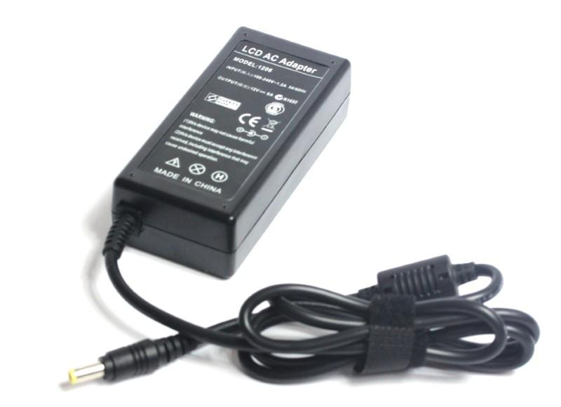 12 volt 6 amp AC adapter
