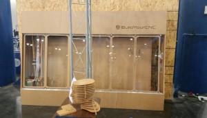 Vertical Laser XL exhibit