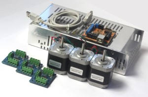 3 Axis Electronics Combo - 62oz in-stepping motors.