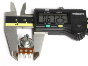 Measurement of a 50K potentiometer