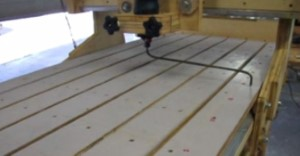 DIY tramming a cnc router