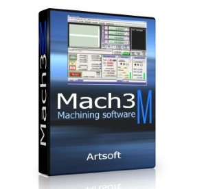 Mach3 CNC Control Software for Windows 32-bit systems.