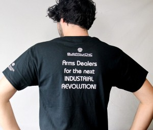 CNC shirt back view