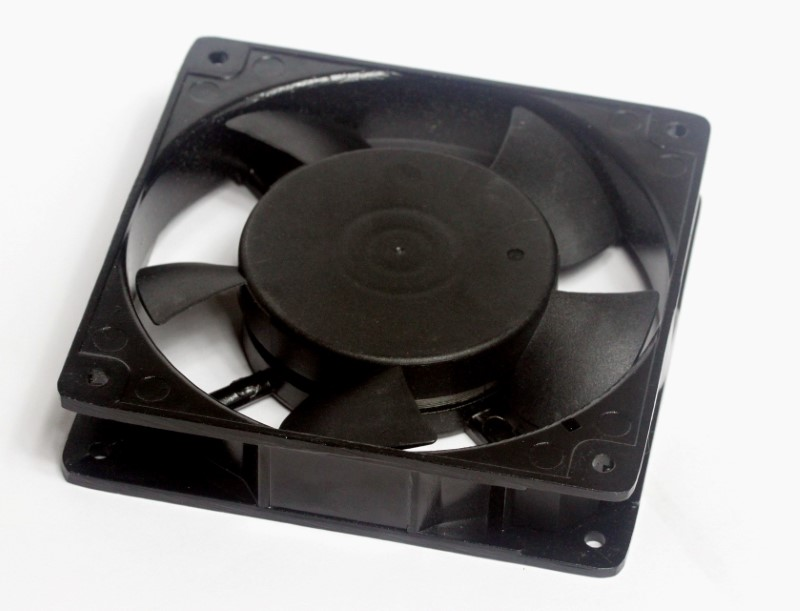 Bottom view of 110V Cooling Fan