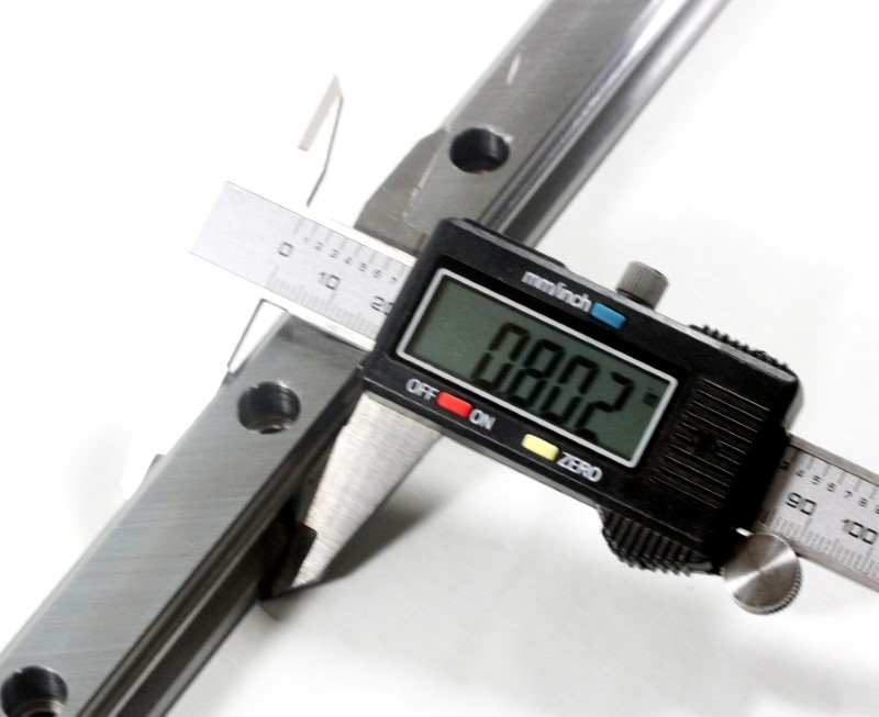 Measurement of HIWIN linear rails