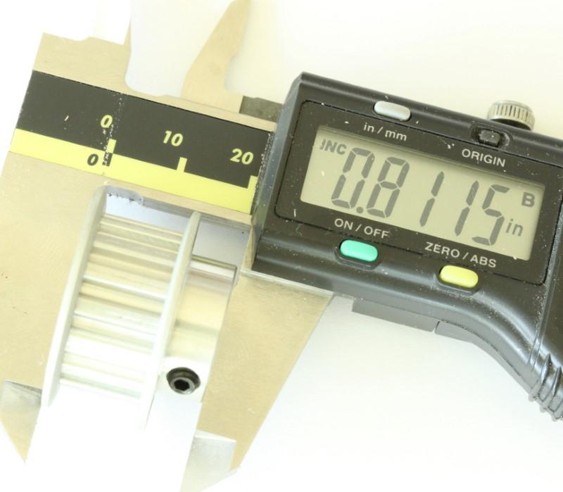 XL 15 teeth drive pulley 1/2