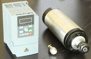 2.2kw Spindle with Inverter or VFD (Variable Frequency Drive)