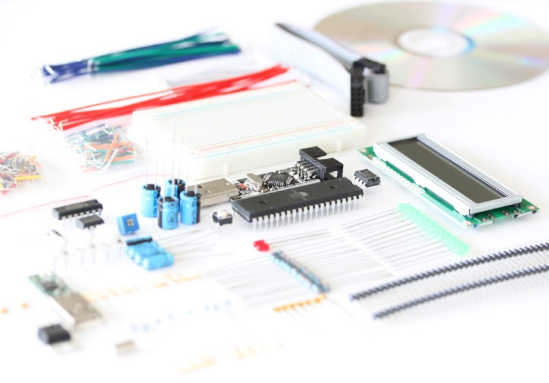 Microcontroller Intermediate Kit with DVD