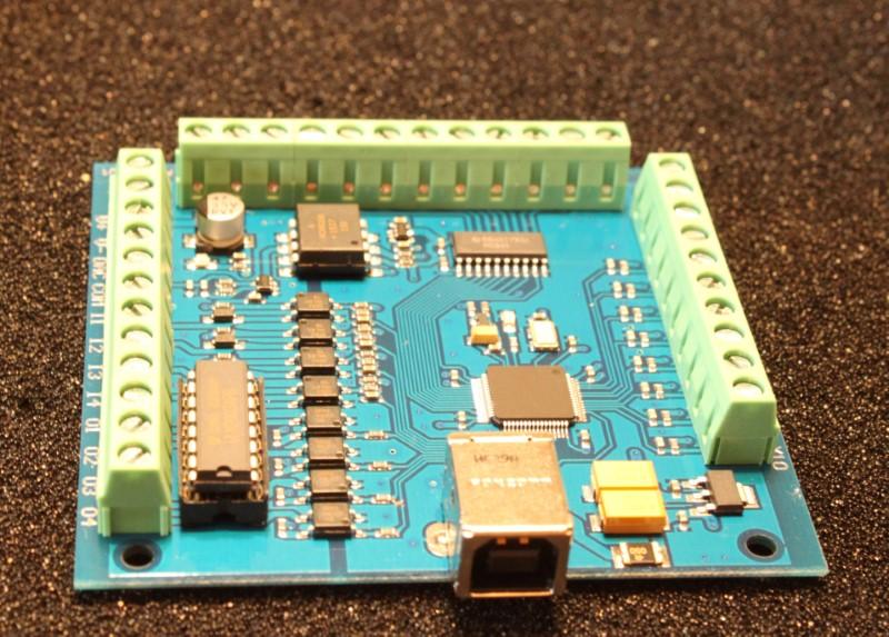 Mach3 USB Interface Board Controller