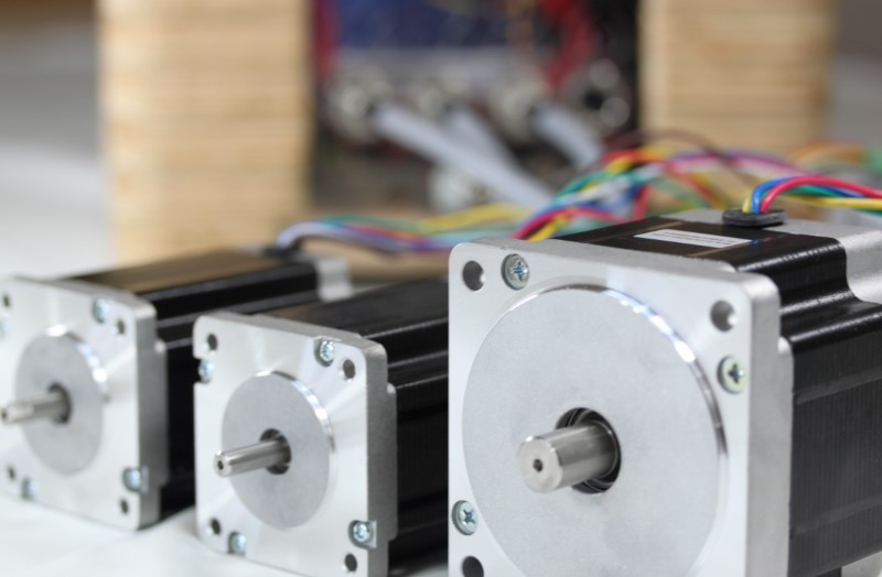 Redfly Assembled Electronics motor view