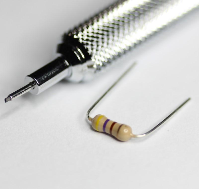 470 ohm resistor 1/4 watt