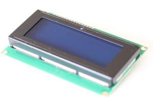 I2C version of the 20x4 LCD display