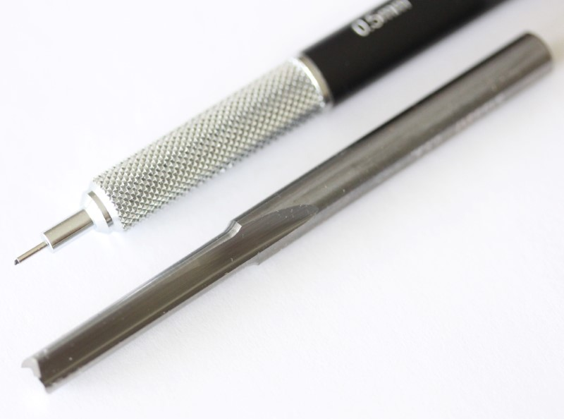"""ONSRUD 62-712 1//4/"""" One Flute Routing End Mill  Plunge Point  2/""""L"""