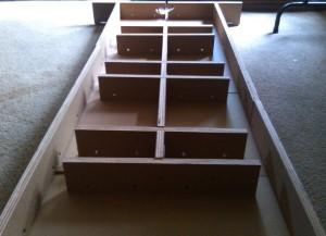 Katy Makerspace build - blackToe optional table.
