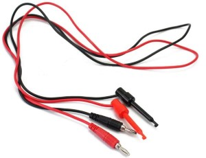 Multimeter Security Banana Plug To Test Hook Clip Probe Lead Cable 500V