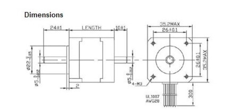 nema 17 wiring diagram