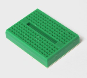 Single Green Mini Breadboard