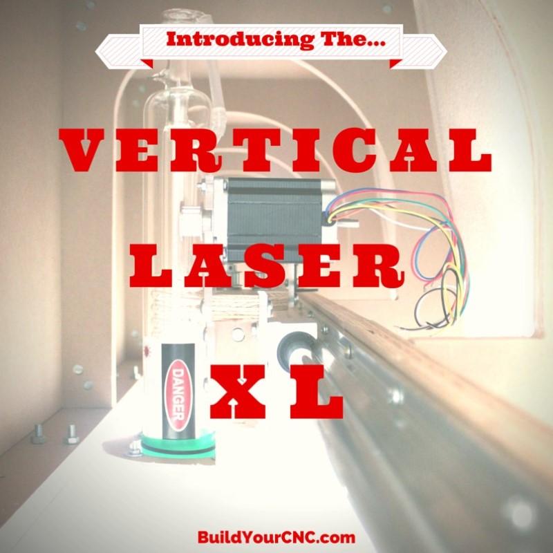 Vertical Laser XL graphic