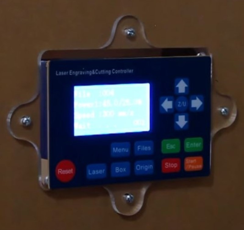Vertical Laser XL Control Interface