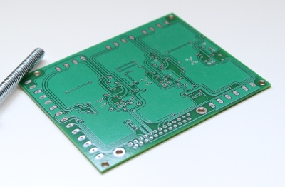 Back of the allegro 3979 3 axis stepper motor driver board