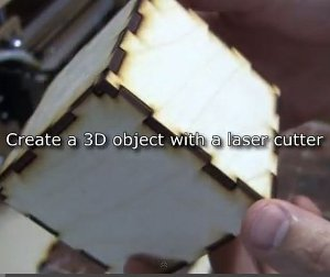 Cutting and creating a box using the blackTooth laser cutter (from CAD to Product)