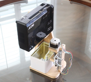 3D DLP Printer Prototype