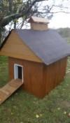doghouse built using scrap MDO