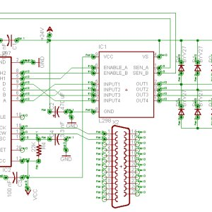 Image of Schematic for A3979 Driver