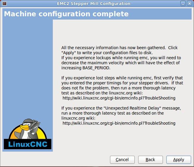 BuildYourCNC - LinuxCNC (EMC2)