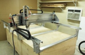 The image of the fabricator pro CNC machine