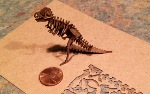 thumbnail of small T-Rex laser cut with the blackTooth laser cutter