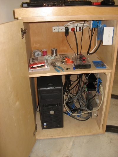 Fitting cabinet