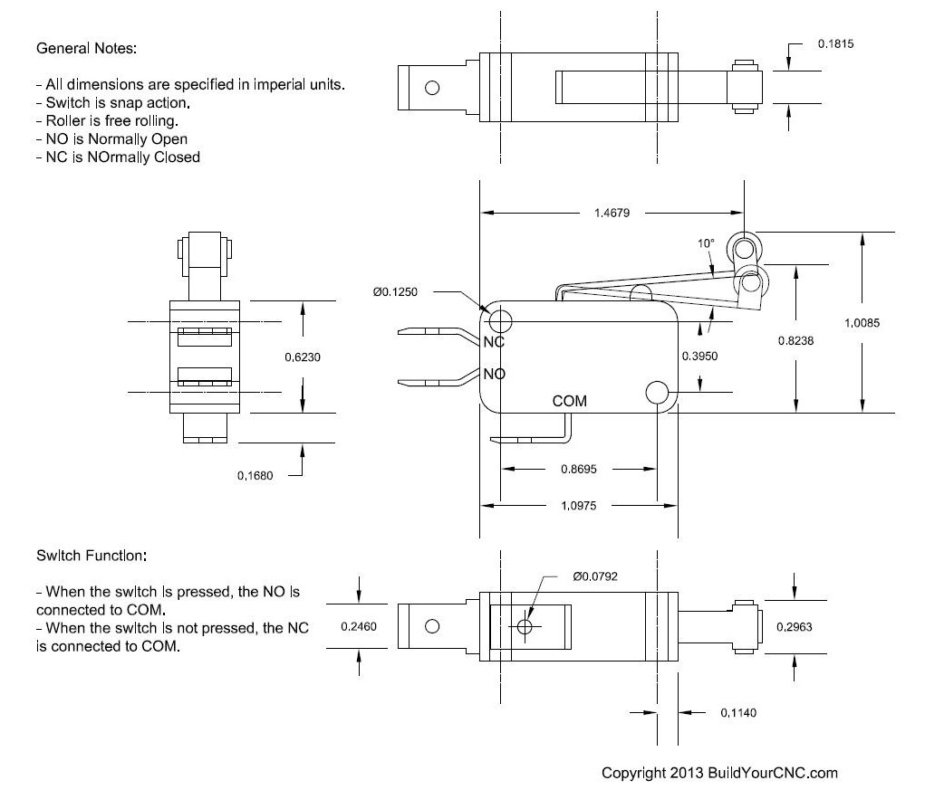 Lead Type Limit Switch Wiring Diagram Block And Schematic Diagrams Accord Wire Data Schema Buildyourcnc Rh Com Cnc Honeywell Fan