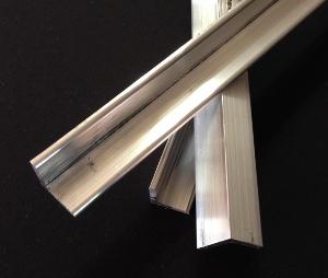 3/4 x 3/4 x 1/8 Aluminum Rails 6061