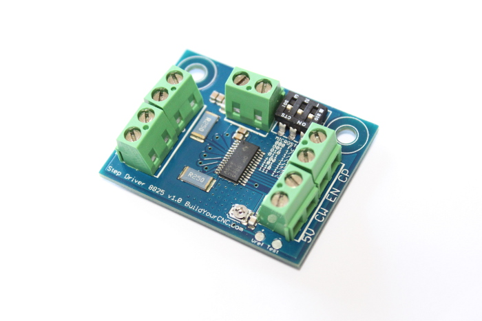 buildyourcnc 2 5 amp stepper motor driver modular unit