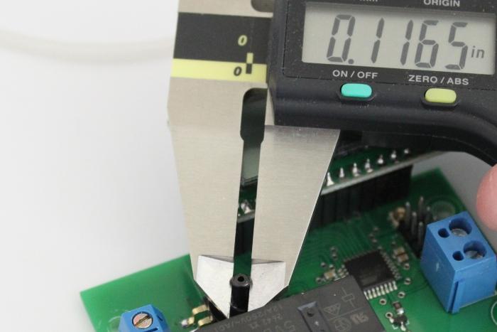 Vacuum pressure controller pressure sensor nozzle diameter